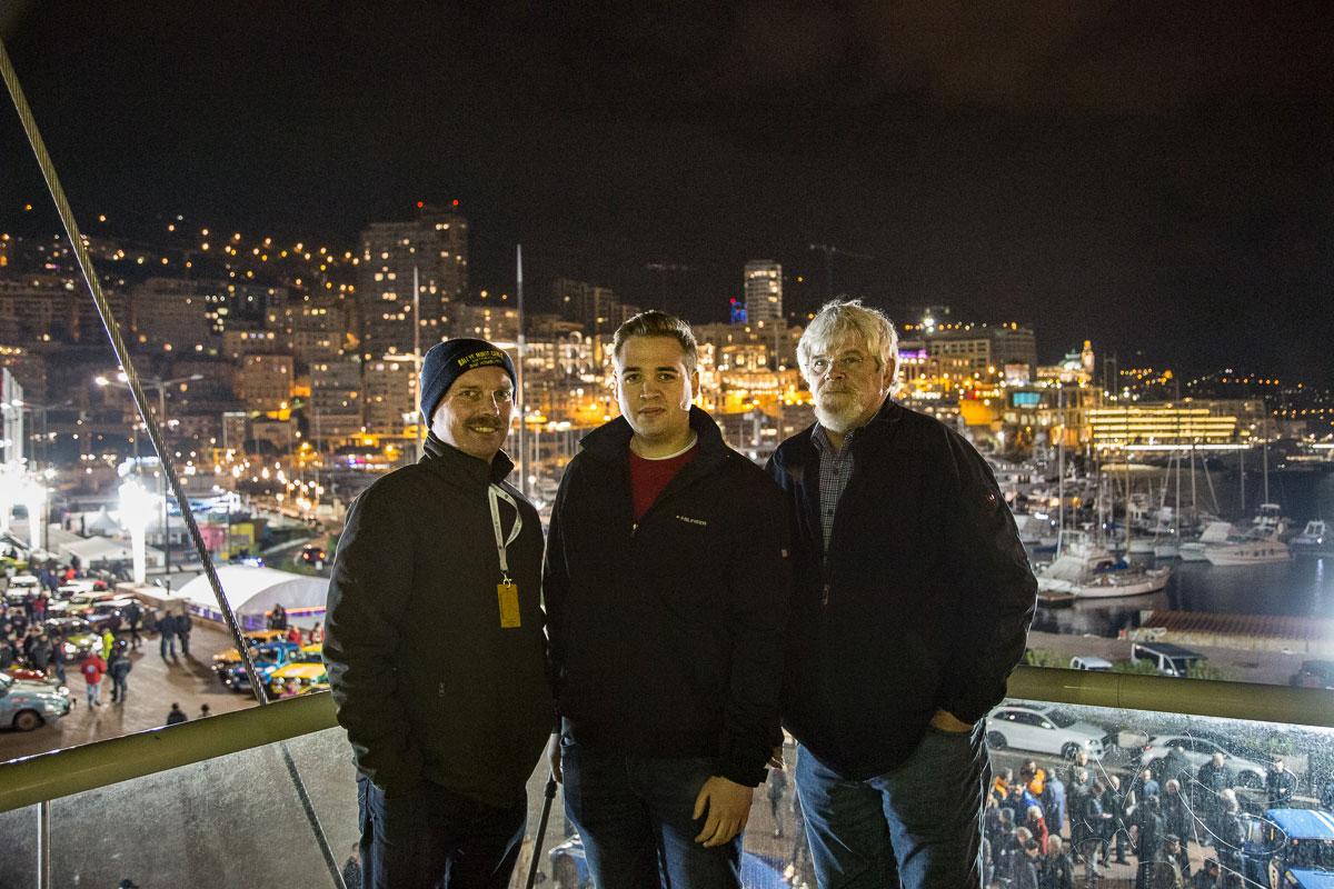 Charlie, Lukas und Hans-Werner (v.l.n.r.)