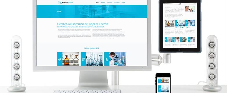 Relaunch Website Kopera Chemie