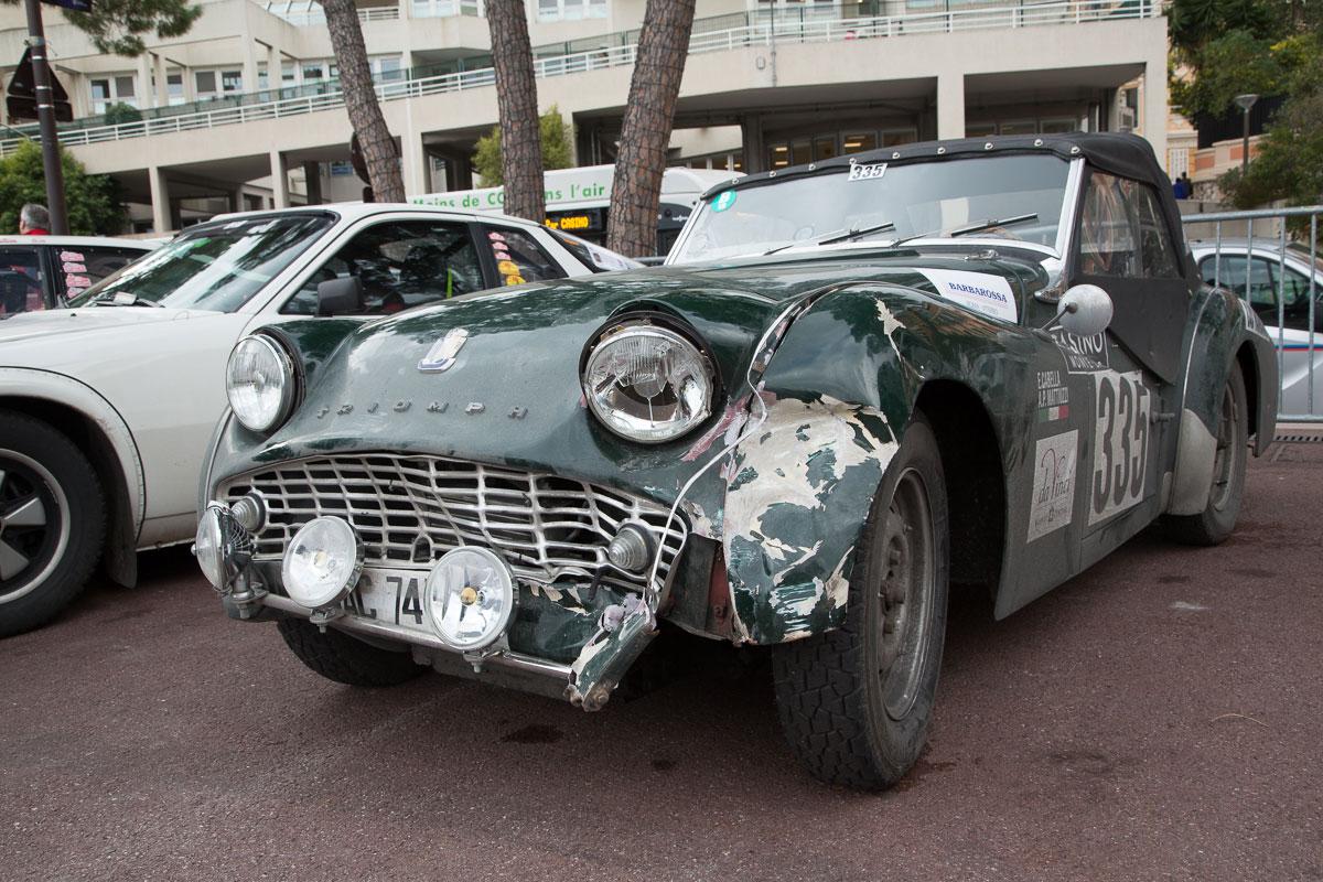 Triumph TR3, Bj. 1960