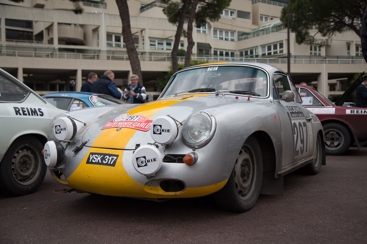 Eins der schönsten Autos im Teilnehmerfeld, Porsche 356 B, Bj. 1962
