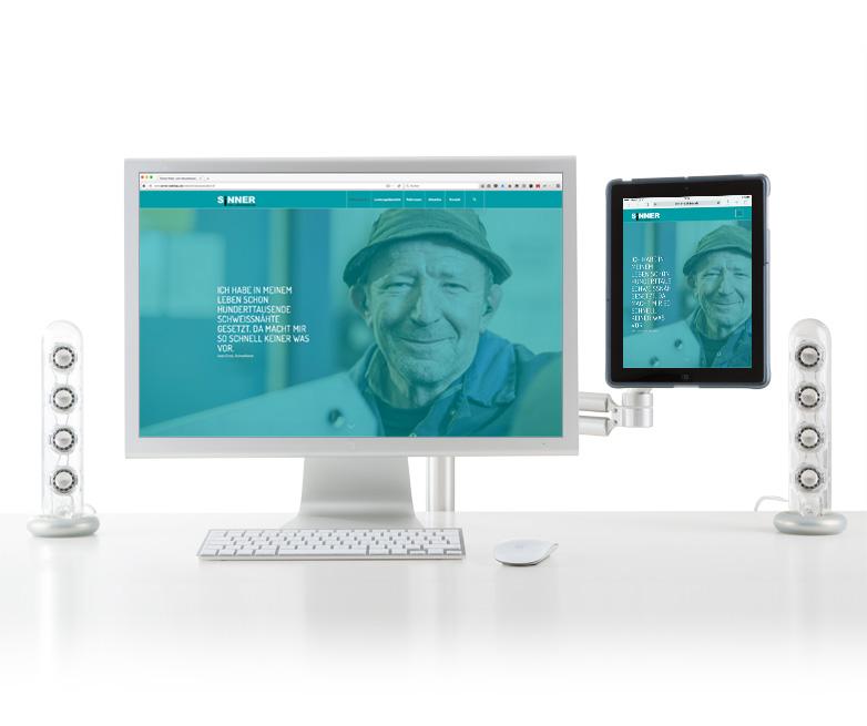 Webdesign Sinner Stahlbau - Relaunch der Website