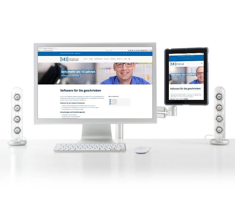 Neue Website der MB Software und Systeme GmbH