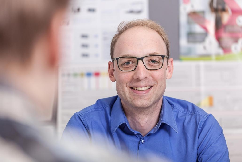 Markus Bläser – Portrait fotografiert von Christian Stein