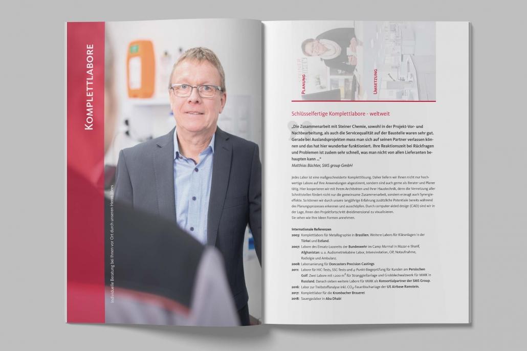 Imageprospekt Steiner Chemie