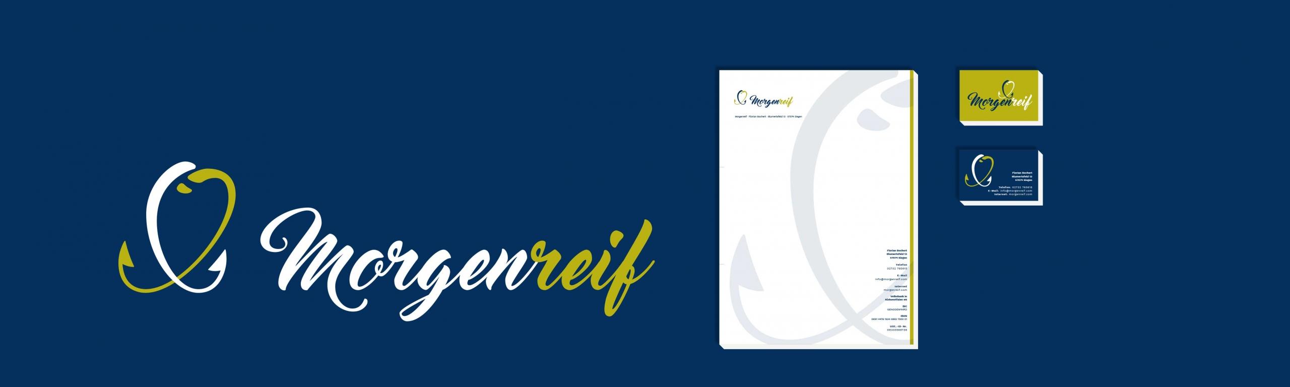 Morgenreif Corporate Design Geschäftsausstattung