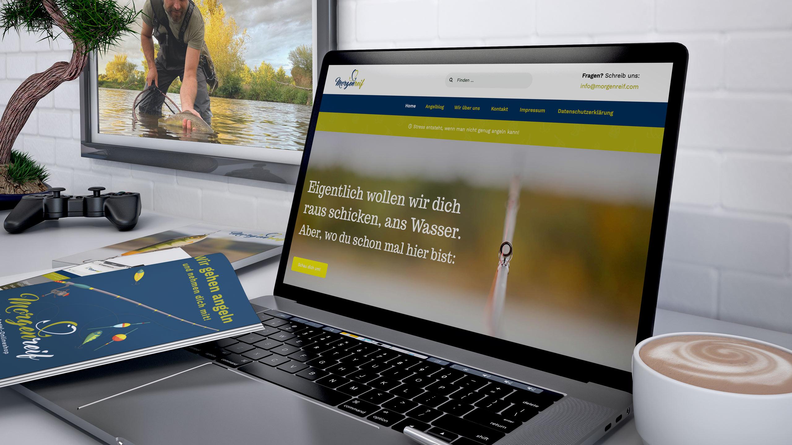 Webdesign Morgenreif - Dein Angelblog